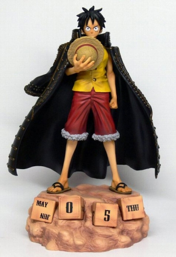 main photo of Eternal Calendar Monkey D. Luffy Black Coat Ver.