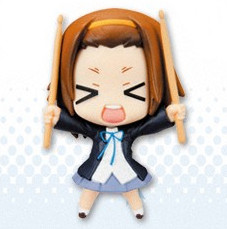 main photo of K-ON! Deformation Maniac Figure Collection Pocket: Tainaka Ritsu