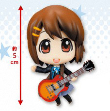 main photo of K-ON! Deformation Maniac Figure Collection Pocket: Hirasawa Yui