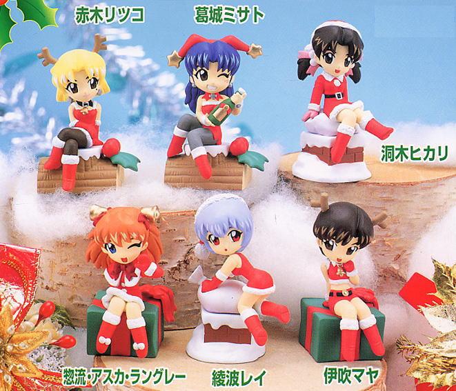 Evangelion Mini Display Christmas Party: Horaki Hikari - My Anime ...