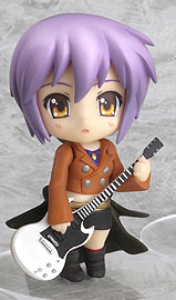 main photo of Nendoroid Petit Melancholy of Haruhi Suzumiya #03: Yuki music ver.