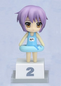 main photo of Nendoroid Petit Melancholy of Haruhi Suzumiya Special Bon Festival Set: Yuki