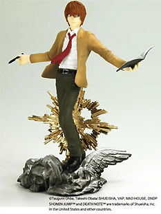 main photo of Death Note Real Figure Collection: Yagami Light