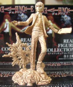 main photo of Death Note Real Figure Collection: Light (Non Color Ver.)