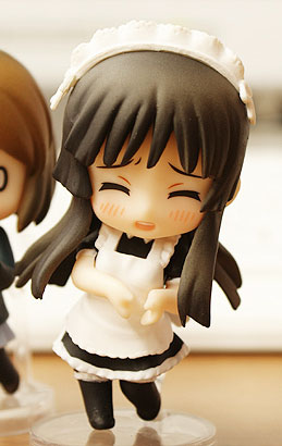 main photo of Nendoroid Petite: K-ON! Mio Akiyama Moe Moe Kyun ver.