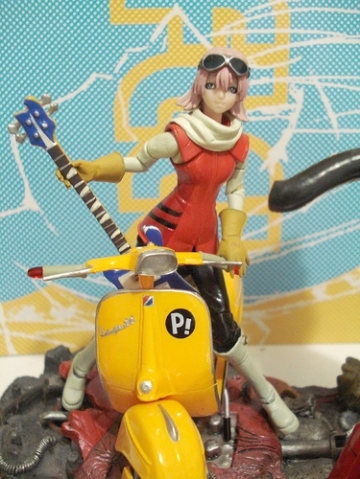 main photo of Haruko Haruhara & Cosmic Scooter
