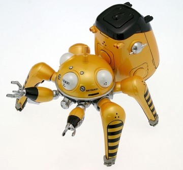 main photo of Tachikomans Tachi Yellow Metal Finish Ver.