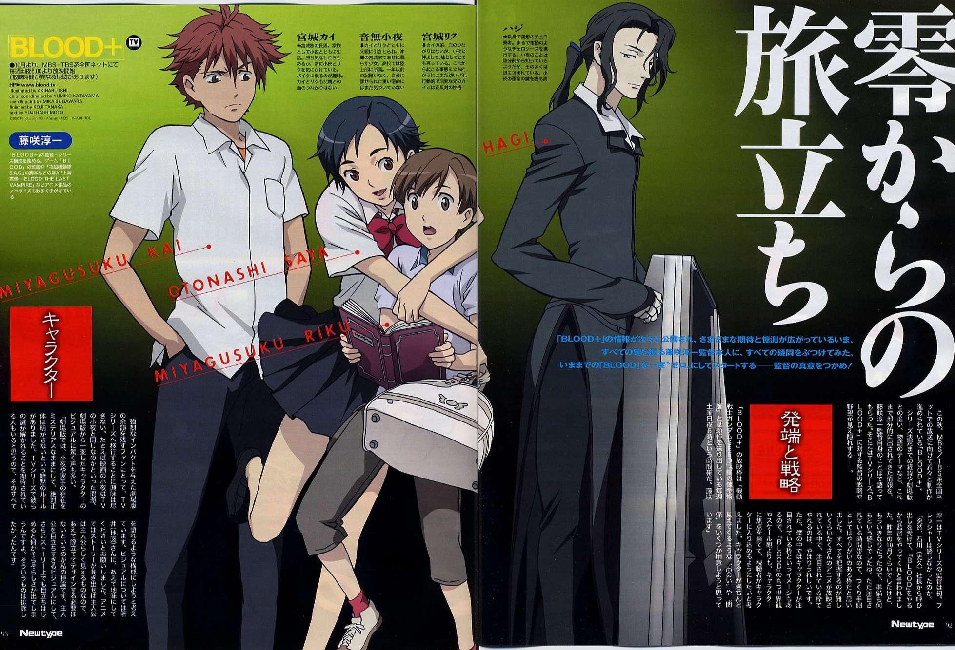 Blood Plus Diva and Riku