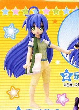 main photo of Lucky☆Star Izumi Konata Figure Meister Lucky☆Star Private Collection (Bandai)