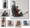 photo of Samurai Champloo Story Image Figures: Jin Mini-Bust Ver.