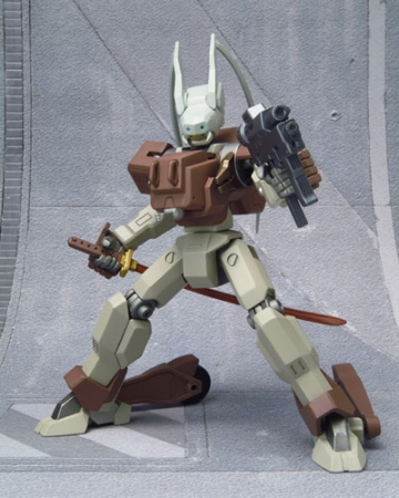 main photo of In Action!!! Offshoot Knight Mare Frame: Type-01R Burai Kai (Tohdoh Custom)