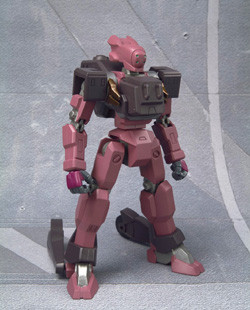 main photo of In Action!!! Offshoot Knight Mare Frame: RPI-11 Glasgow (Kallen custom)