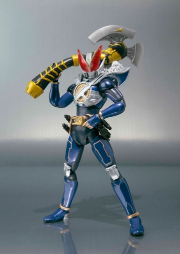 main photo of S.H.Figuarts Kamen Rider NEW Den-O Strike Form Trilogy Ver.