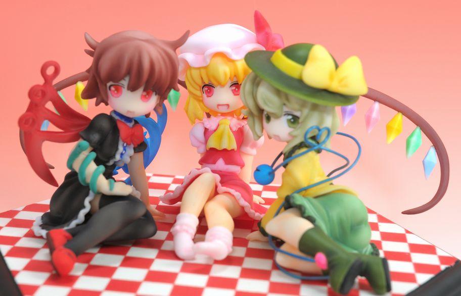 HD wallpaper: Anime, Touhou, Flandre Scarlet, Koishi