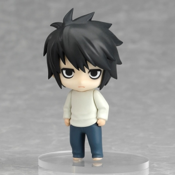 main photo of Nendoroid Petite: Death Note - Case File #01:L Stooping ver.