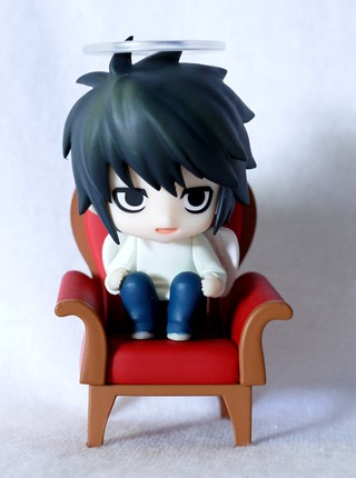 main photo of Nendoroid Petite: Death Note - Case File #01: L Secret ver.