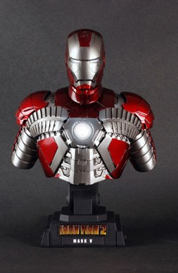 main photo of Iron Man Mark 5 Bust