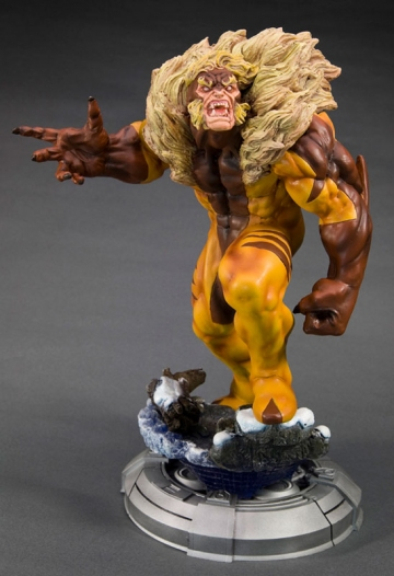 main photo of Fine Art Statue Sabertooth