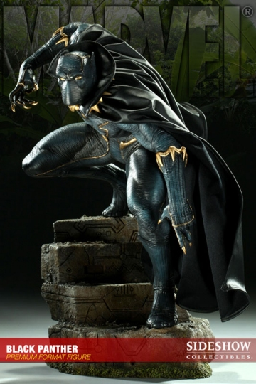 main photo of Premium Format Figure Black Panther
