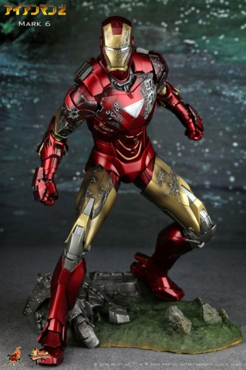 main photo of Movie Masterpiece Iron Man Mark 6