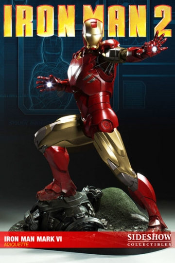 main photo of Iron Man mk-VI Maquette