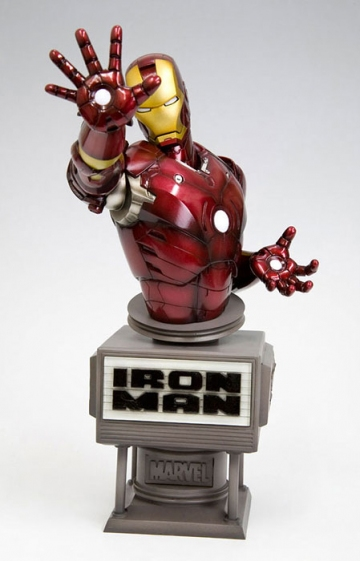 main photo of Ironman Movie Fine Art Bust