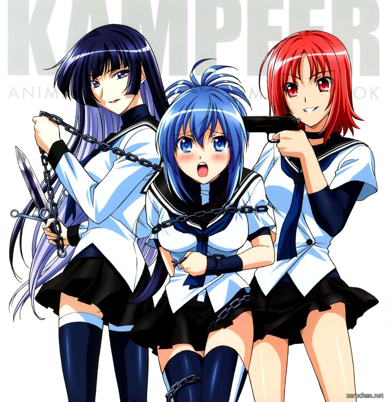 Anime Kämpfer