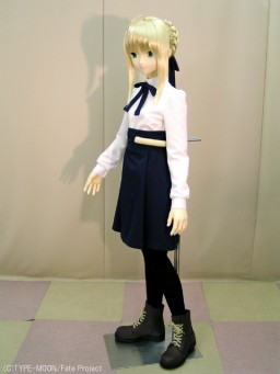 main photo of Mannequin doll: Saber School uniform ver. (Posable ver.)