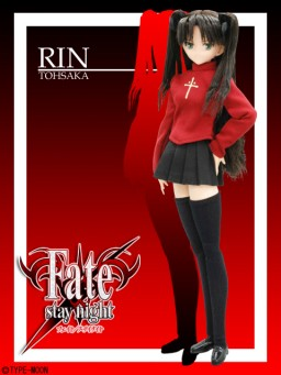 main photo of Tohsaka Rin Hybrid Active Figure - Taiga Doujou Special version