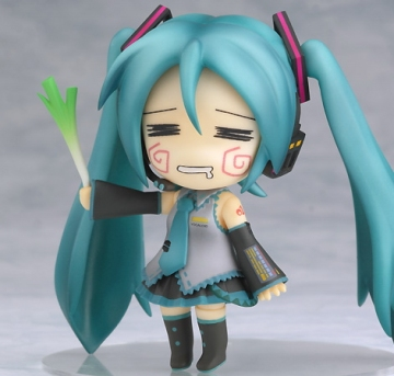 main photo of Nendoroid Hatsune Miku Hachune Face Ver.