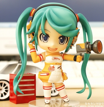 main photo of Nendoroid Hatsune Miku: Race Queen Miku 2010 ver.