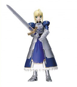 main photo of Fate/stay night Figure Collection: Saber Excalibur Version