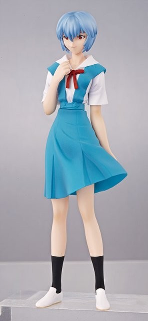 main photo of Evangelion PORTRAITS 8: Ayanami Rei Uniform Ver.