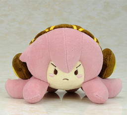 main photo of Tako Luka Plushie (Palm Size): Angry Ver.