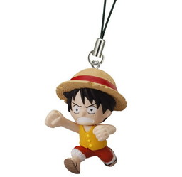 main photo of One Piece Road of Ace Rescue Straps: Monkey D. Luffy