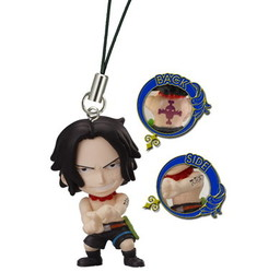 main photo of One Piece Road of Ace Rescue Straps: Portgas D. Ace