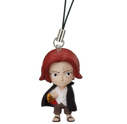 main photo of One Piece Road of Ace Rescue Straps: Red-Haired Shanks