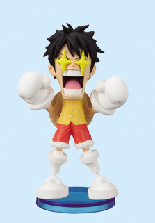 main photo of One Piece World Collectable Figure Vol.11: Monkey D. Luffy