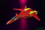 photo of VF-19 Custom Excalibur Fire Valkyrie VF HI-METAL Ver.