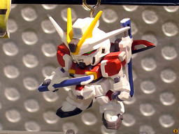 main photo of Gundam Seed Destiny Chibi Figure Keychain Version 2: ZGMF-X56S/β Sword Impulse Gundam