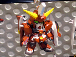main photo of Gundam Seed Destiny Chibi Figure Keychain Version 2: ZGMF-X23S Saviour Gundam
