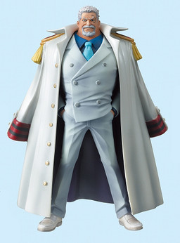 main photo of One Piece High Spec Coloring Figure Vol. 5: Monkey D. Garp