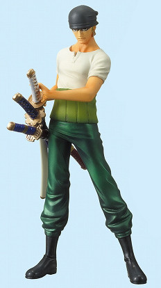 main photo of One Piece High Spec Coloring Figure Vol. 5: Roronoa Zoro