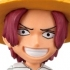 One Piece World Collectable Figure Vol.0: Shanks