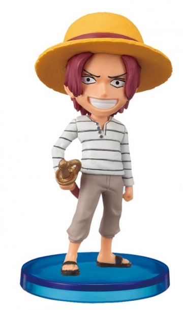 main photo of One Piece World Collectable Figure Vol.0: Shanks