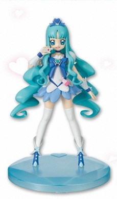 main photo of Heartcatch Pretty Cure DX Girls Figure: Cure Marine