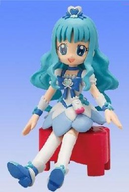 main photo of Bandai Action Figure Heartcatch Precure!: Cure Marine
