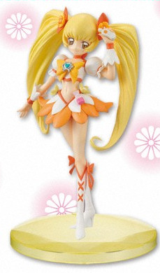 main photo of Heartcatch Pretty Cure DX Girls Figure: Cure Sunshine