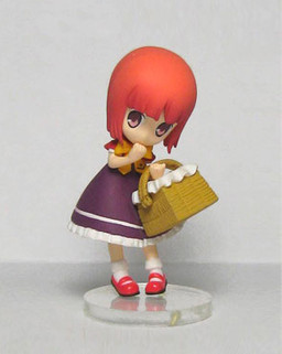 main photo of Ookami-san to Shichinin no Nakamatachi Figure Collection: Akai Ringo