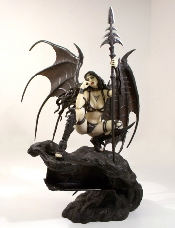 main photo of Fantasy Figure Gallery: Black Tinkerbell LE